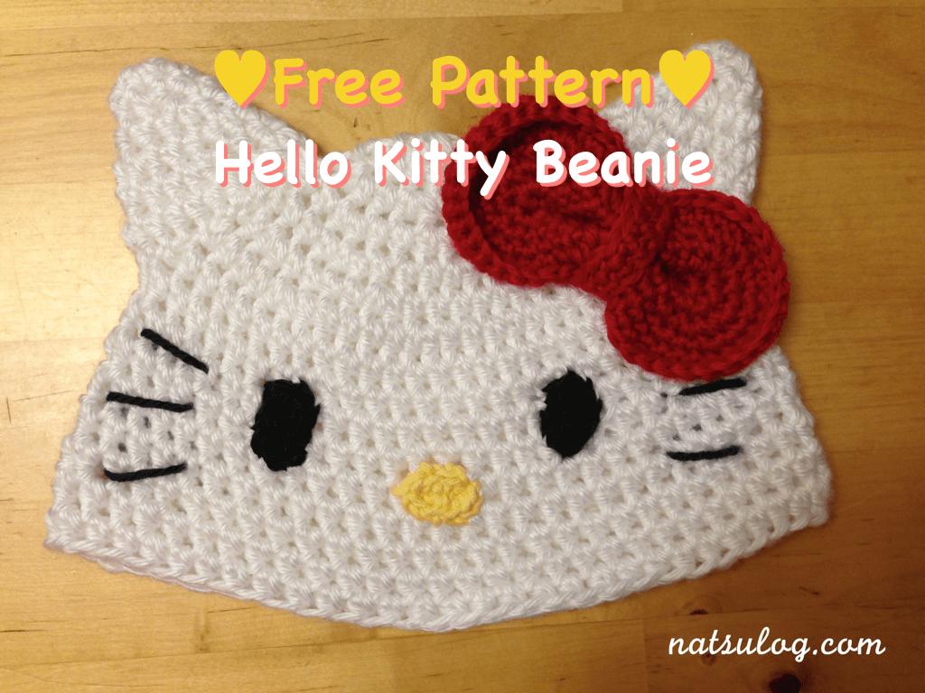 Free Amigurumi Patterns Hello Kitty : Crochet hello kitty pattern crochet club