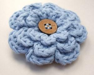 22.3layer flower crochet easy free pattern