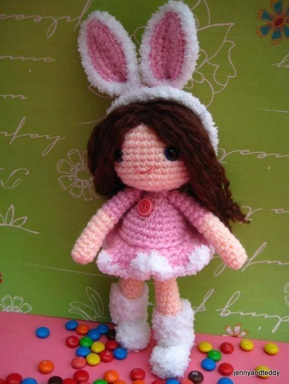Amigurumi Bunny Girl : 30 free easy Easter crochet patterns