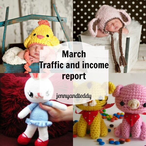 march traffic and income report by jennyandteddy