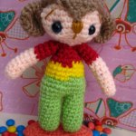 monkey with skate board amigurumi free crochet pattern and tutorial by jennyandteddy