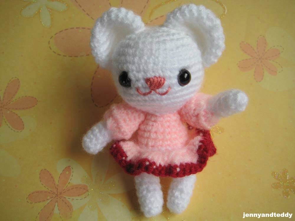 Amigurumi For Free : Tiny unicorn crochet amigurumi free pattern by ahookamigurumi on