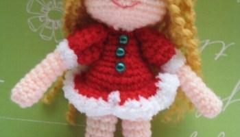 Amigurumi Doll Free Crochet Pattern : Amy girl amigurumi free crochet pattern