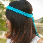 easy simple shell stitch crochet headband free pattern