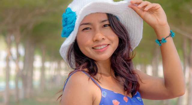 how to crochet sun hat for beginner by jennyandteddy