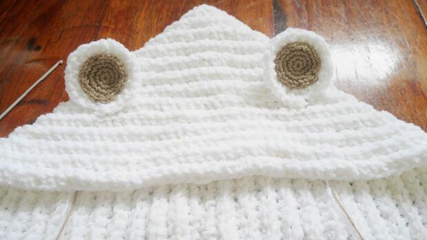 acrochet hoodiehat free patt