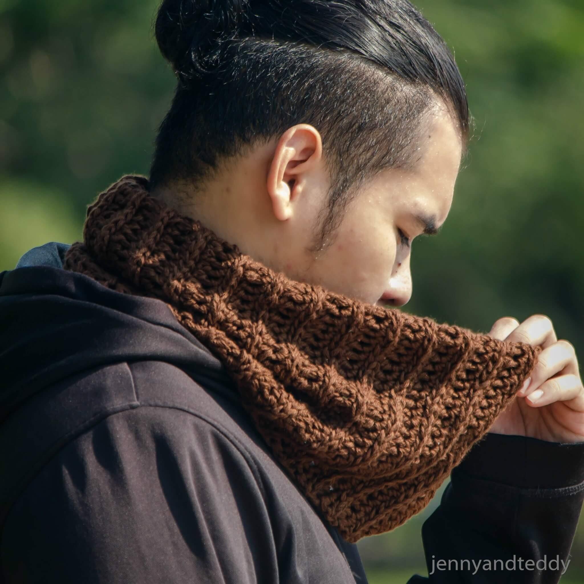 Latte neck warmer cowl free crochet pattern easy crochet neck warmer cowl free pattern bankloansurffo Gallery