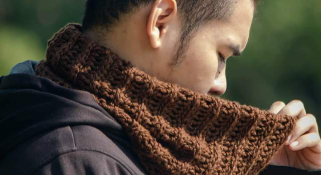 easy crochet neck warmer cowl free pattern