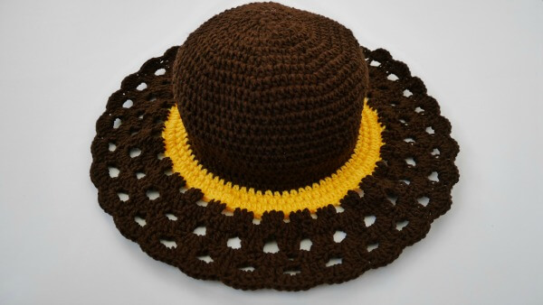 easy crochet sun hat free pattern how to