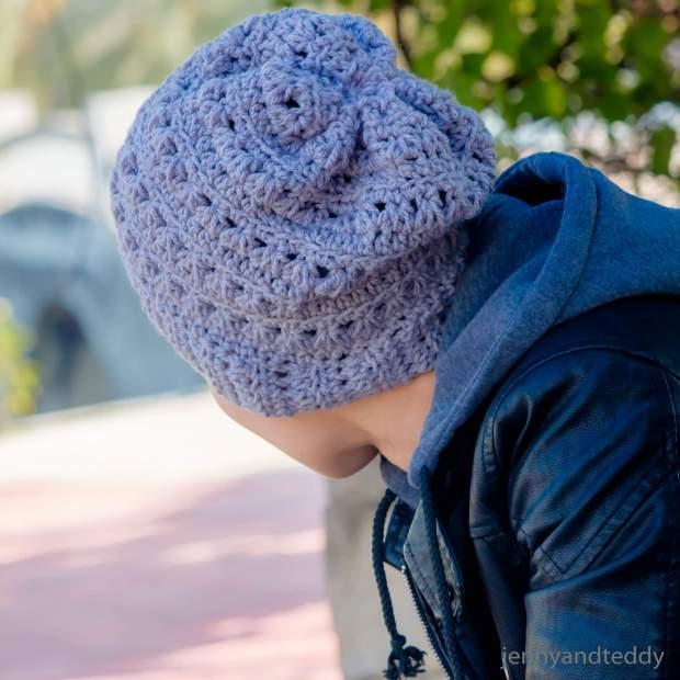 newman beanie crochet free pattern1