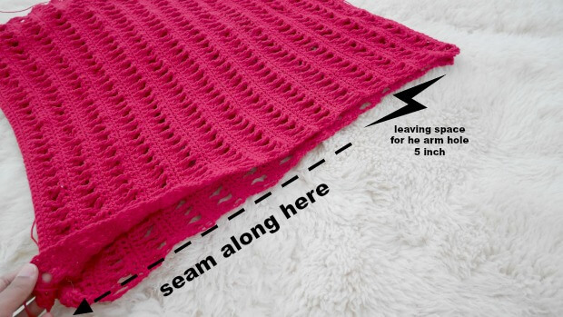 easy summer crochet top