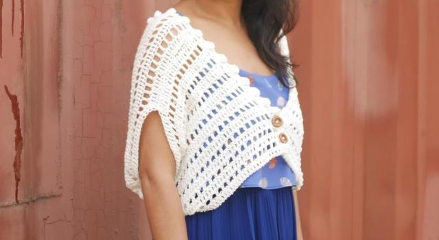 easy as pie borelo bolero shrug free crochet pattern tutorial by jennyandteddy