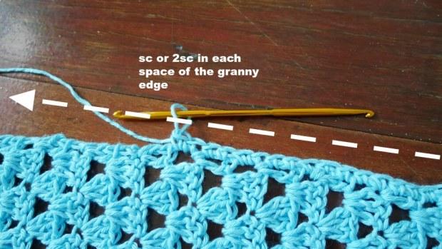 crochet easy top tee 1