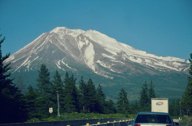 Mt. Shasta. I think...
