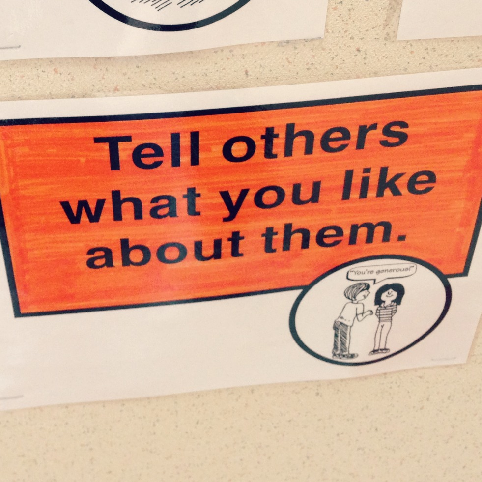 Tell others what you like about them via @jennyonthespot