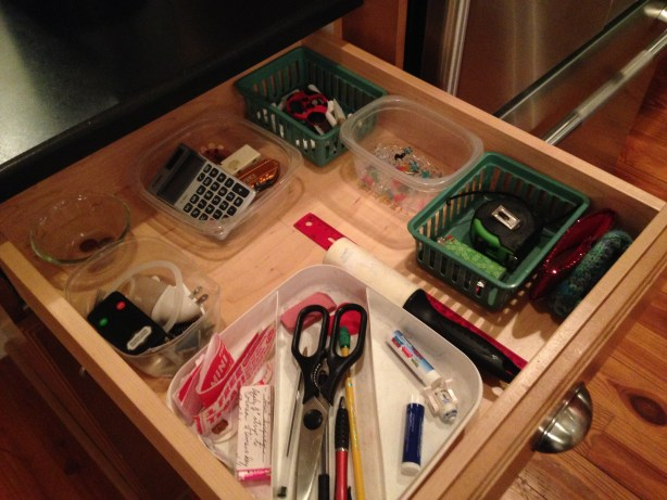 junk drawer - after