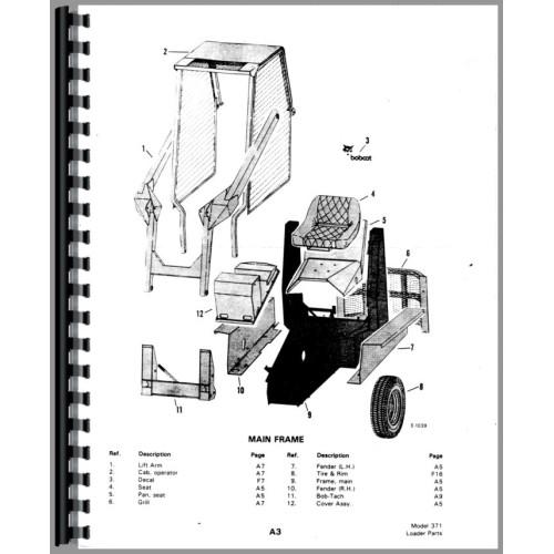 bobcat 853 wiring diagram pdf