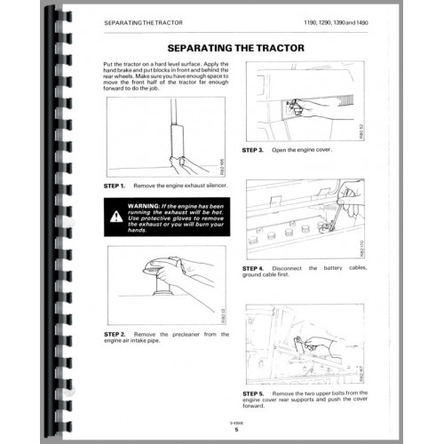 Case 1494 Tractor Service Manual
