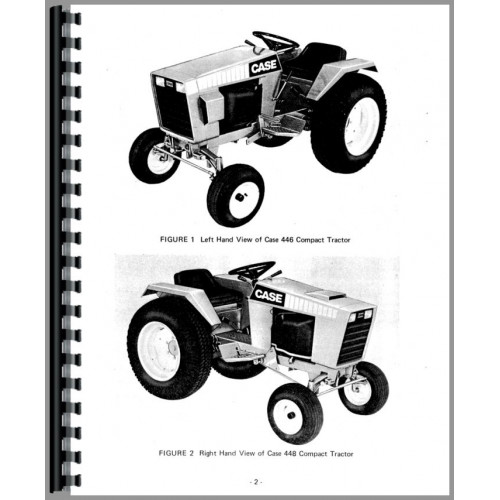 448 Case Garden Tractor Wiring Diagram - Wiring Diagram \u2022
