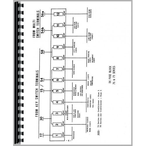 deutz allis d13006 tractor wiring diagram