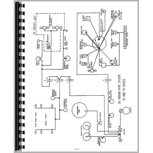 deutz allis dx160 tractor wiring diagram service
