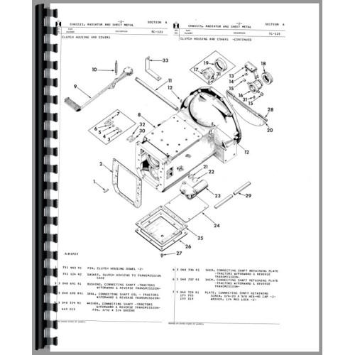 1952 international engine diagram