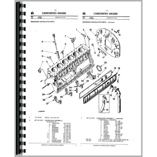 Ih Tractor Wiring Diagram Ih Free Engine Image For User Manual