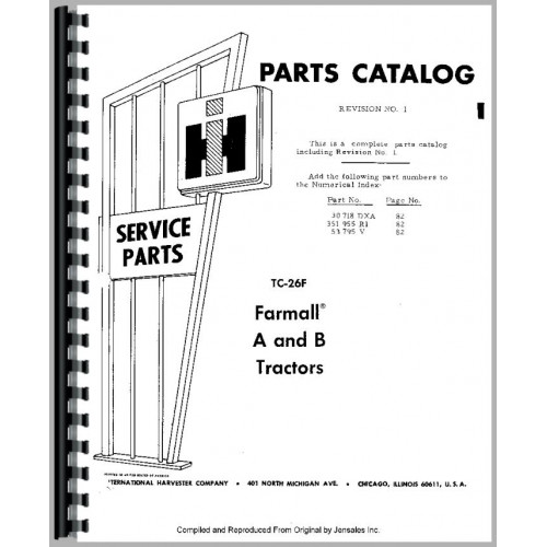 Farmall B Diagram manual guide wiring diagram