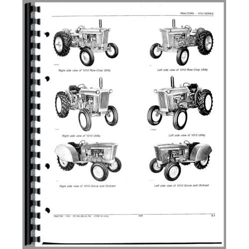1010 john deere tractor ledningsdiagram