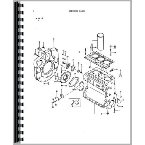 tractor engine parts diagram pdf