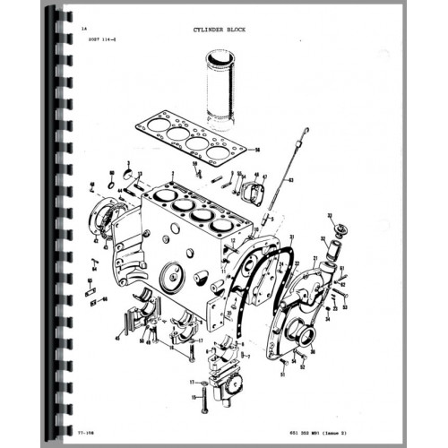 massey feguson tractor ignition switch wiring diagram