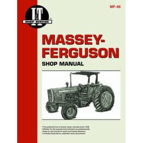 Massey Ferguson 360 Tractor Service Manual (IT Shop)