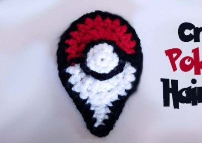 How to Make a Crochet Pokemon Go Hair Clip – New Free Pattern!