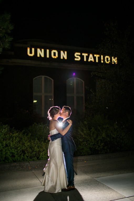 Union Station Wedding || Photo: Genesa Richards Photography ||Married, Union Station