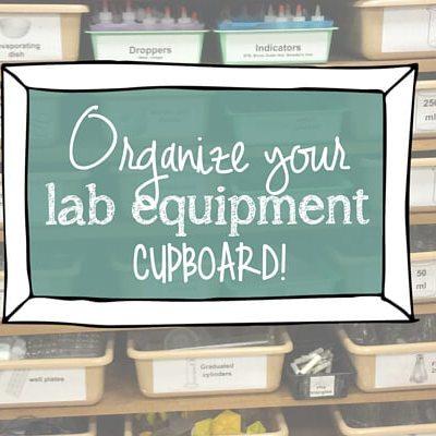 organize science equipment featured