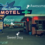 The Historic Blue Swallow Motel on Route 66