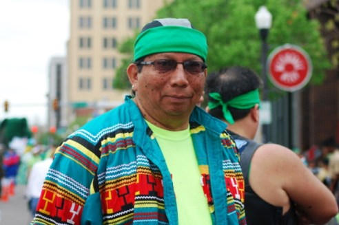 Native American Vietnam Veteran Irish Indian St. Patrick's Day OKC