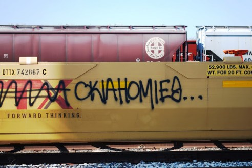 OklahomaHOMIES on a Train
