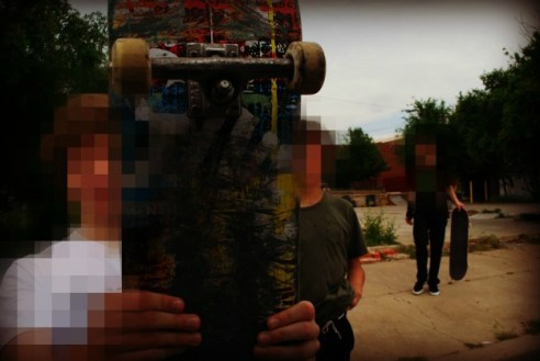 Rebellious Skateboarders in Oklahoma City