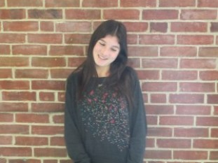 """Lauren Dolowich, 11th grade. """"People see me as a girl who doesn't care much about appearances."""""""