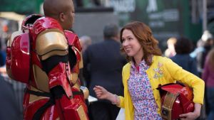 The hysterical banter between Titus (Tituss Burgess) and Kimmy (Ellie Kemper) makes for a wonderful addition to the show (and some even funnier musical numbers).