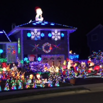 Chazotte gets so much pleasure from putting his house on display for the community during the holiday season.