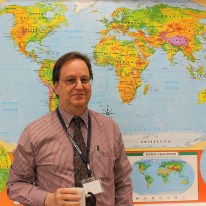 "Mr. Maraventano has traveled extensively, visiting 6 continents and over 35 countries. One of his greatest joys is ""being able to share these experiences in my classes."""