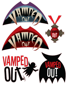 VAMPED OUT -- Concept Logos