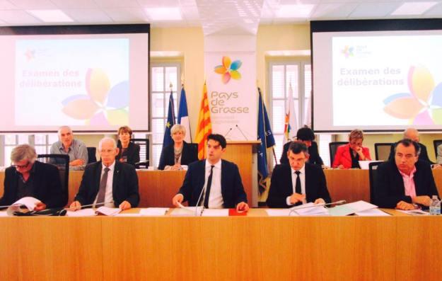 Conseil Communautaire de la Communauté d'agglomération du Pays de Grasse 01