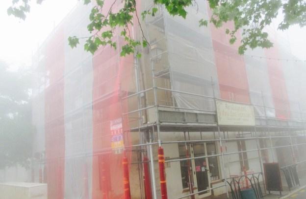 Patrimoine Rénovation de l'Hotel du Parc à Saint Cézaire 01