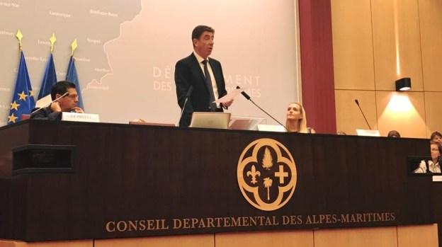 Félicitations à Charles Ange Ginesy, nouveau président du Conseil Départemental des AM