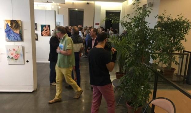 Vernissage de l'exposition des Artistes du Pays Grassois 03