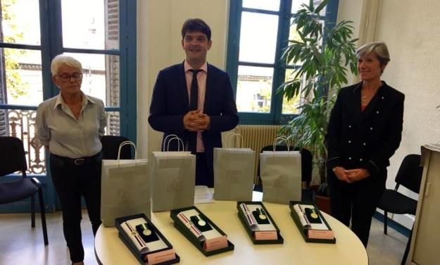 remises de médailles aux agents du CCAS 02
