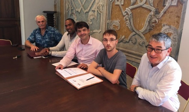 signature contrat service civique marvin lejeune